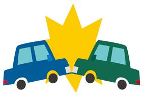神戸交通事故治療ナビ:交通事故のイラスト